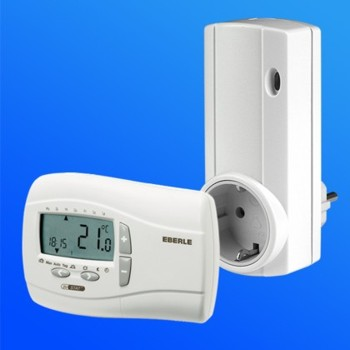 room thermostat utqf digital with radio for electric heater ebay. Black Bedroom Furniture Sets. Home Design Ideas
