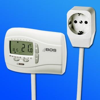 thermostat utq digital f r elektroheizung vom fachmann ebay. Black Bedroom Furniture Sets. Home Design Ideas