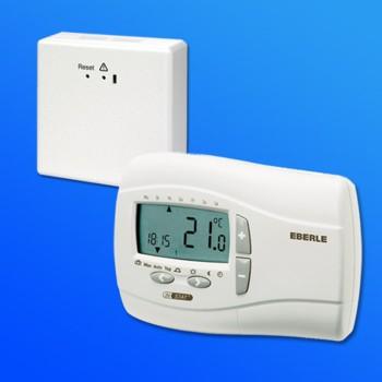thermostat utqf digital mit funk f r elektroheizung. Black Bedroom Furniture Sets. Home Design Ideas