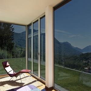Sonnenschutzfolie Titan Dunkel Aussenmontage (Rollenbreite 76cm)