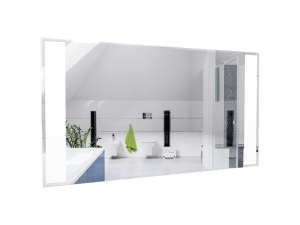 LED-Line Infrarot Spiegelheizung - 500 Watt 110x60 cm