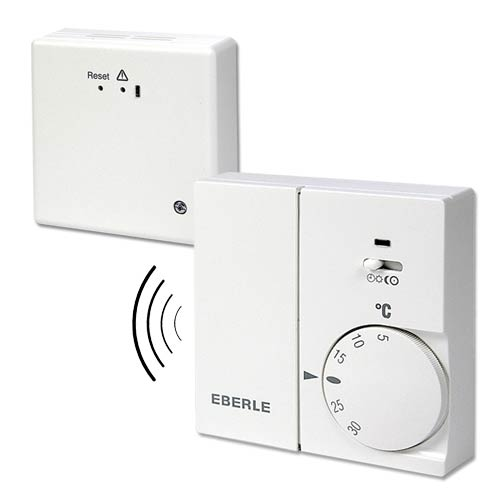 Thermostat Funk Set Rtr Eberle Festanschluss