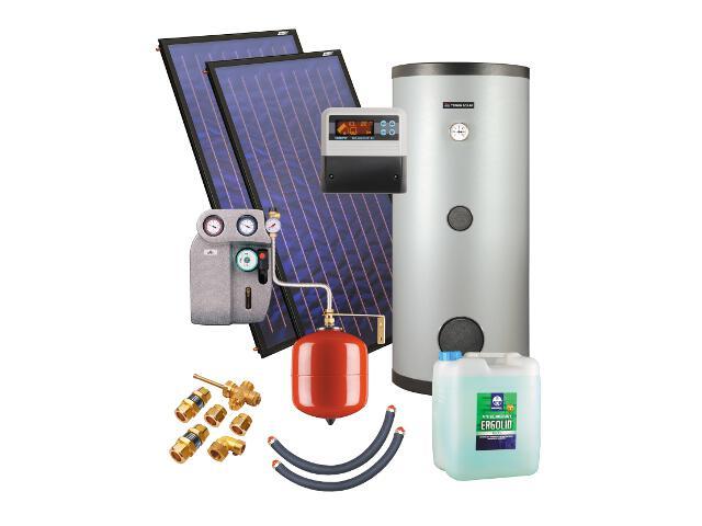 Kospel Solaranlage mit Speicher ZSH-2/250 duoSol Plus 201430