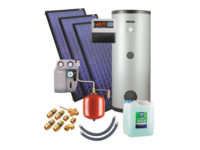 Kospel Solaranlage mit Speicher ZSH-3/300 triSol Plus 201431