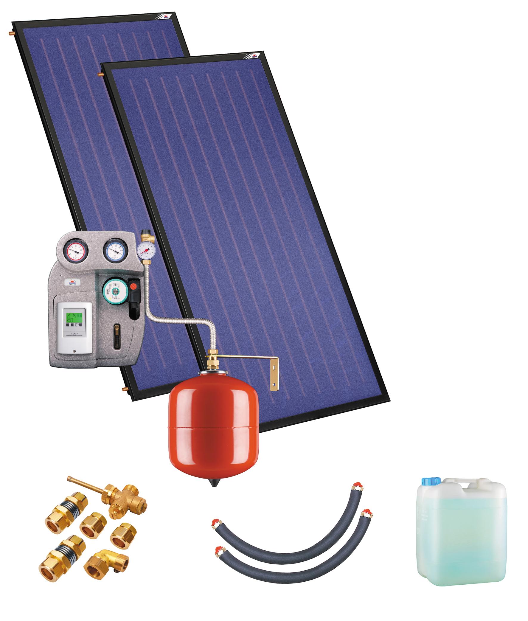 Kospel Solaranlage ohne Speicher ZSH-2 duoSol Plus 201432