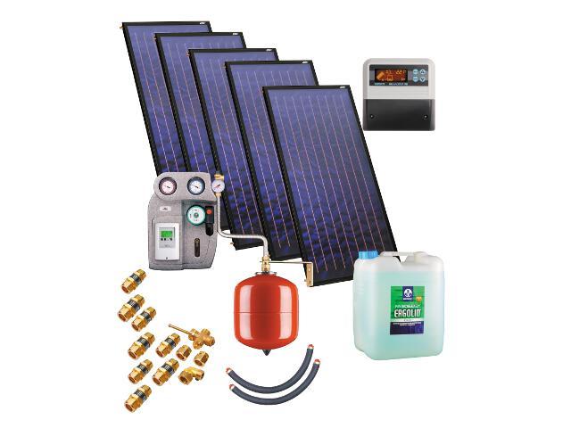 Kospel Solaranlage ohne Speicher ZSH-5 pentaSol Plus 201434