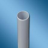Siegenia Aubi PVC Rohr NW 75 Länge 500 mm grau 201771