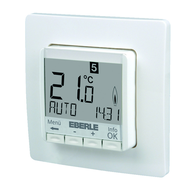 Eberle Digitales Thermostat FIT 3R weiß 201855