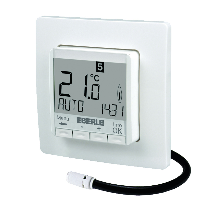 digitales thermostat f r fussbodenheizung fit 3l wei. Black Bedroom Furniture Sets. Home Design Ideas
