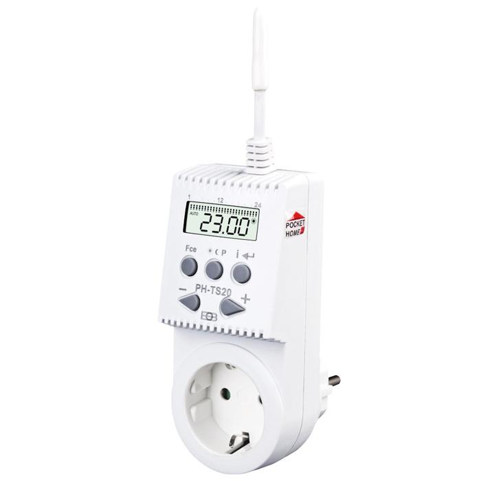 Elektrobock Home Control - Funk Steckerthermostat PH-TS20 201896
