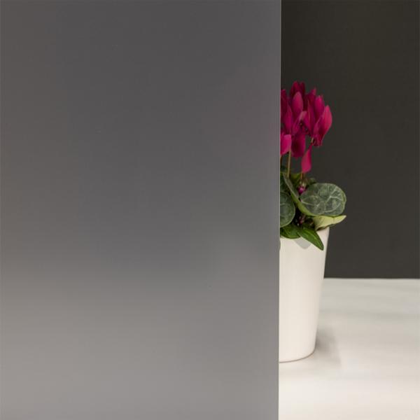 Milchglasfolie Grau Matt (Rollenbreite 152cm) 202001