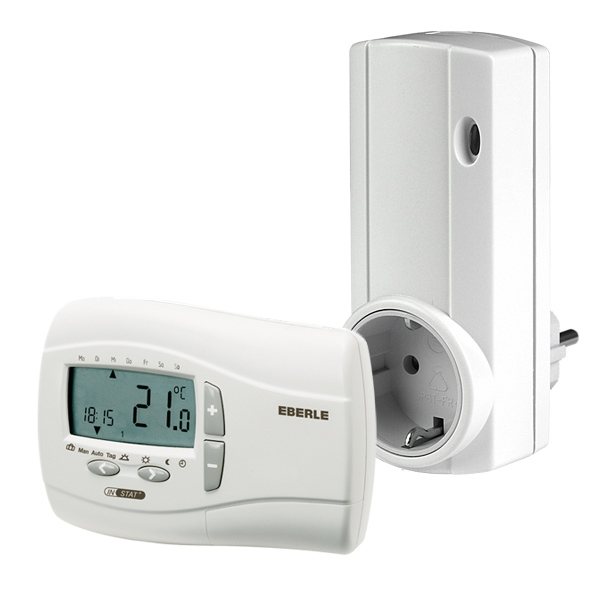 Thermostat Funk-Set UTQ Eberle Steckdose