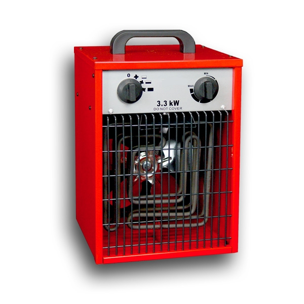 Elektroheizlüfter Elektroheizer 3,3 kW - 3300 Watt