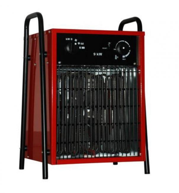 Elektroheizlüfter Elektroheizer 9,0 kW - 9000 Watt