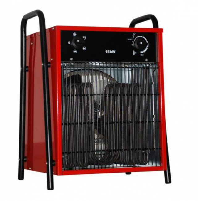 Elektroheizlüfter Elektroheizer 15,0 kW - 15.000 Watt