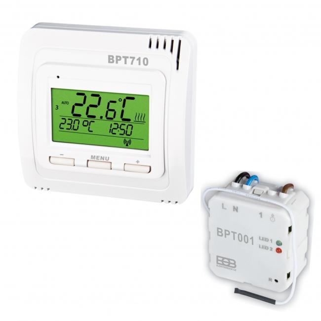 Thermostat Funk-Set UTQ CZ Festanschluss Unterputz