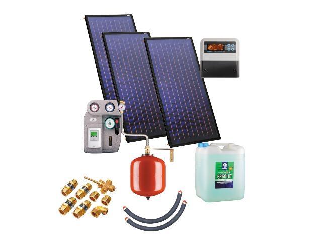Solaranlage ohne Speicher ZSH-3 triSol Plus