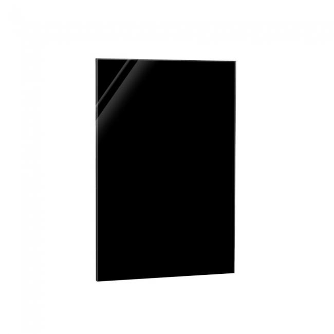 Infrarotheizung Glaspaneel Schwarz 800 Watt 60x120 cm
