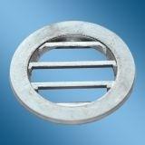 Wetterschutzgitter AEROPAC Aluminium natur