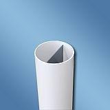 PVC Rohr 2- Wege NW 100 - Länge 895mm