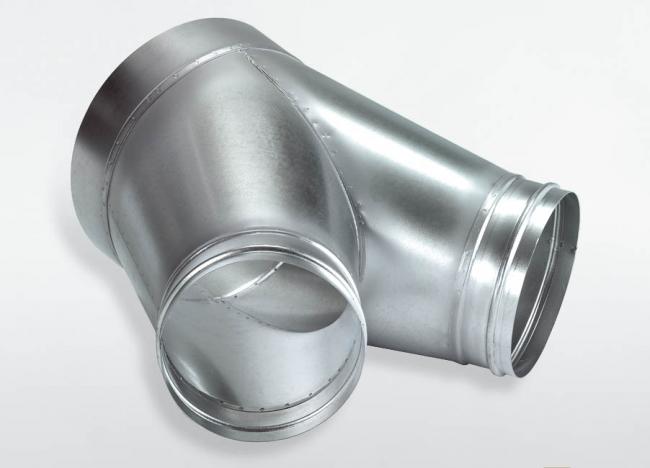 Multifunktions Luftverteilerkopf 200mm mit 2 Abgängen