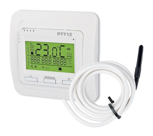 Digitaler Thermostat PT712-EI für Fußbodenheizung mit externen Fühler