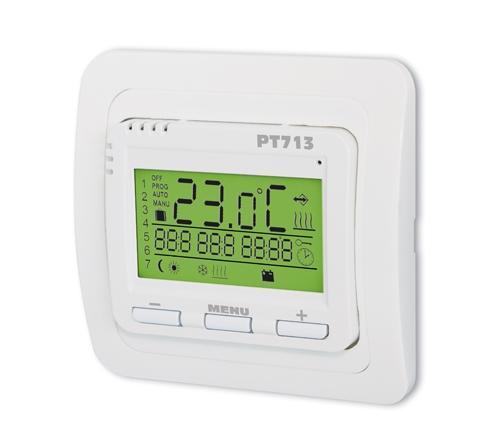 Digitaler Thermostat PT713 für Fußbodenheizung ohne Fühler