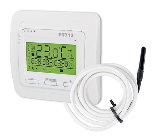 Digitaler Thermostat PT713-EI für Fußbodenheizung mit externen Fühler
