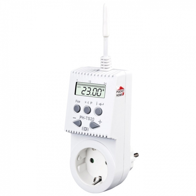 Pocket Home Steckdosenthermostat PH-TS20
