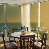Sonnenschutzfolie Gold Dunkel  Innenmontage (Rollenbreite 152 cm)