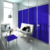 Colorfolie Ozeanblau (Rollenbreite 152cm)