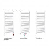 Elektrische Heizpatrone SEL.RC - 1000 Watt Festanschluss