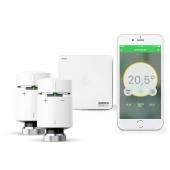 Eberle Wiser Heat Starter Kit - Heizkörperthermostate inkl. Hub (Gateway)